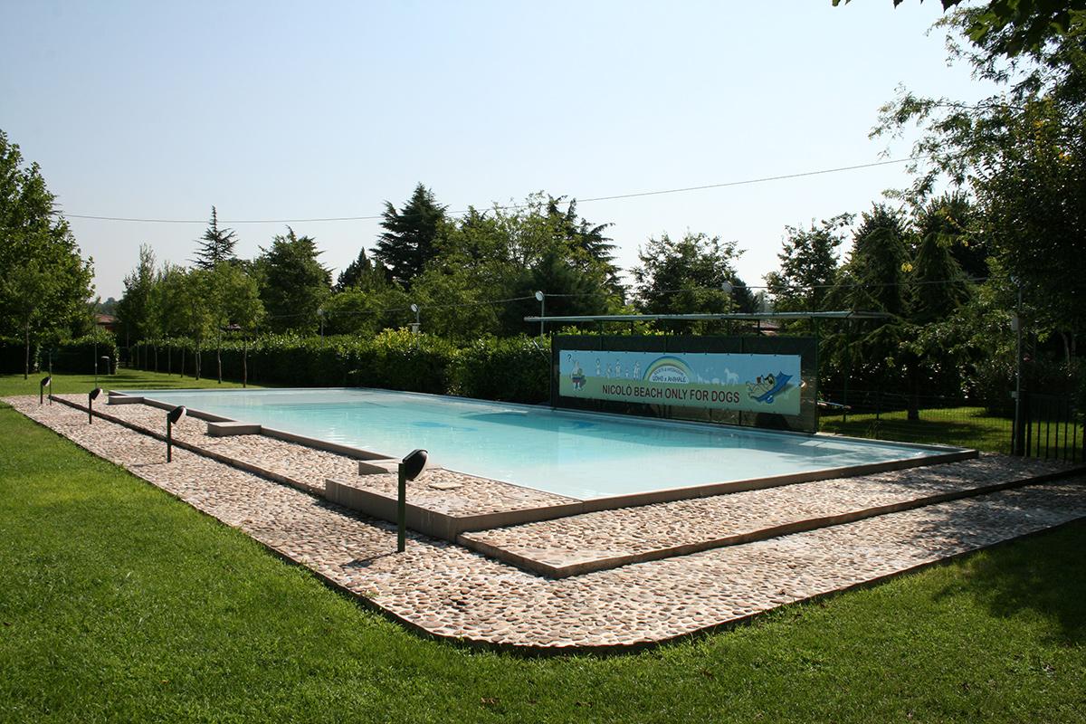 La piscina utilizzata per i corsi
